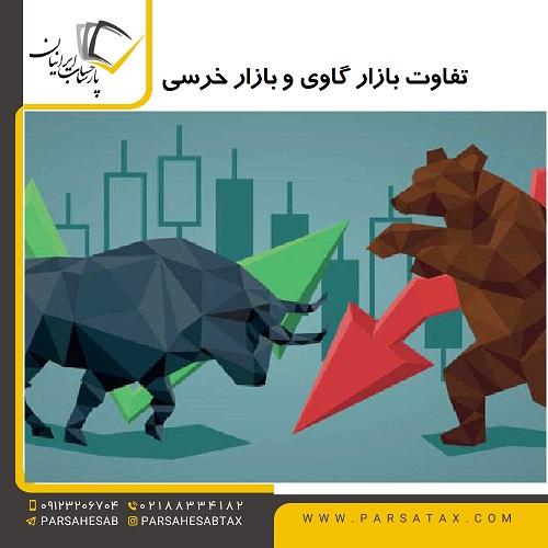 تفاوت بازار گاوی و بازار خرسی